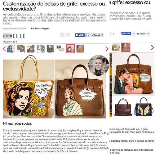 Elle Brazil January 2014