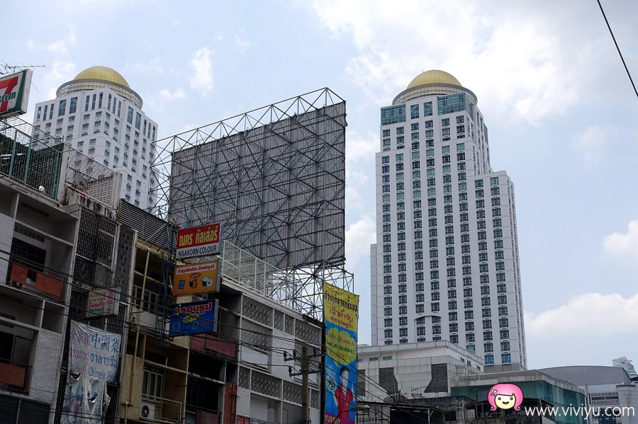 ARL機場快線,TALAD NEON,The Berkeley Hotel Pratunam,曼谷住宿,水門市場,水門市場伯克利飯店,泰國曼谷 @VIVIYU小世界