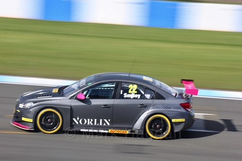 Chris Smiley during Qualifying during the BTCC Weekend at Donington Park 2017: Saturday, 15th April