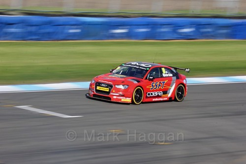 Ant Whorton-Eales during qualifying during the BTCC Weekend at Donington Park 2017: Saturday, 15th April