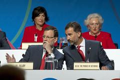 Rajoy interviene en la presentación de la Cand...