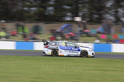 Josh Price in race one at the British Touring Car Championship 2017 at Donington Park