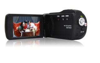 Portable Full HD 1080P 3D camcorder 3D Video C...
