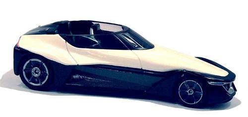 Ebbro Nissan Black Glider