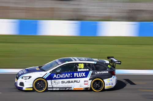 Ashley Sutton during qualifying during the BTCC Weekend at Donington Park 2017: Saturday, 15th April