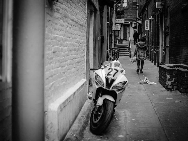 Chinatown alley.