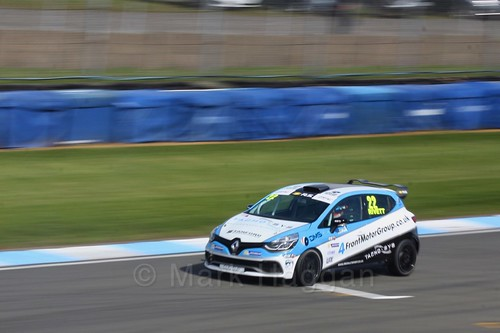 Paul Rivett in Clio Cup qualifying during the BTCC Weekend at Donington Park 2017: Saturday, 15th April