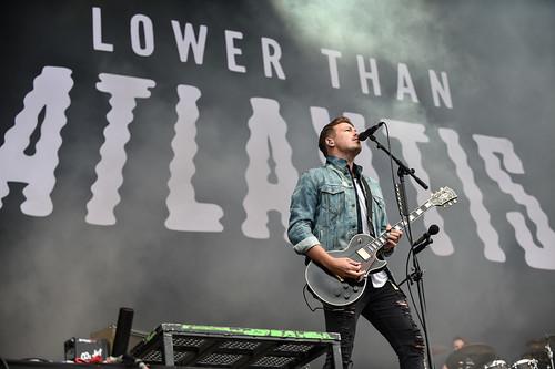 Lower Than Atlantis at Leeds Festival 2016