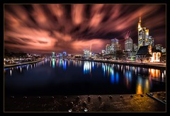 Frankfurt after sunset (wide angle 14mm)