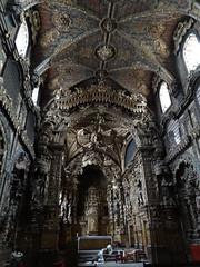 Igreja de Santa Clara - best example of talha dourada (gilded wood)
