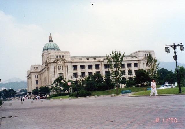 国立中央博物館(旧朝鮮総督府庁舎)