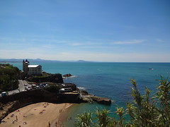 Biarritz - stunning views on the Bay of Biscay