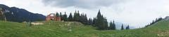 Vedere nordică de la cabana Piatra Mare