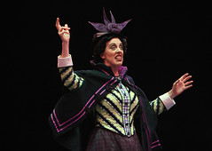 Ruth Gottschall (Miss Andrew) in Mary Poppins, produced by Music Circus at the Wells Fargo Pavilion July 8 - 13, 2014. Photos by Charr Crail.