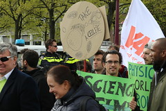 March for Science in Amsterdam 2017