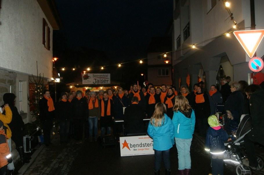 2015-11-21 Adventsmaerktle bei Bluete und mehr, Freiberg, 21. November 2015