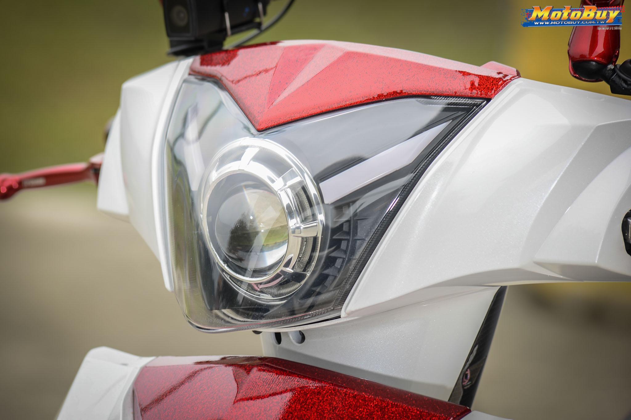 [夯車分享] 閃耀紅白雙星 - KYMCO G6 150 | MotoBuy