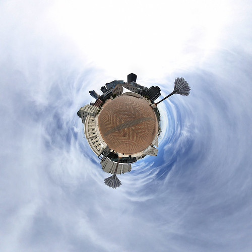 CiviqSquare Wellington - Little planet 2