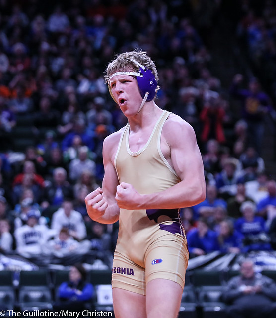 145AA - 1st Place Match - Tyler Wagener (Waconia) 32-3 won by decision over Peter Nelson (St Cloud Apollo) 29-3 (Dec 2-1)