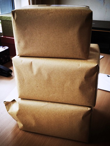 Today is all about...parcels away