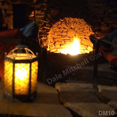 WM Dale Mitchell Landscape 10, Fire place, Flat work, Retaining wall, dry laid stone construction, copyright 2014