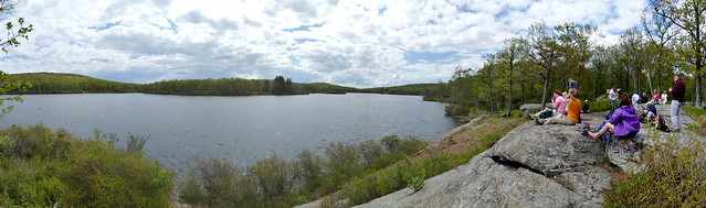 Lunch at Pine Meadow Lake