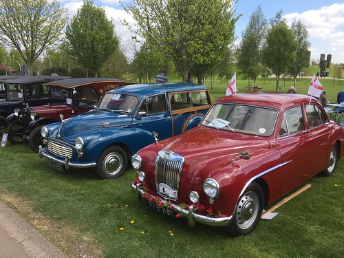 Drive It Day at the National Memorial Arboretum, St George's Day 2017