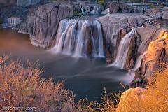 Shoshone Falls - B&W ND1000