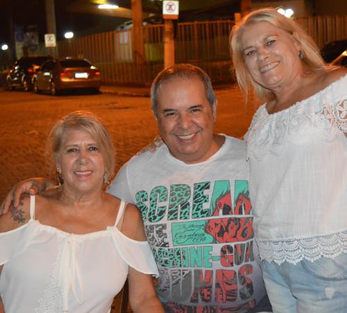 Leda Albeny, Alexandre Pereira e Édna Araújo