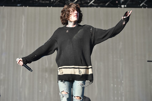 Bring Me The Horizon, Glastonbury 2016 Other Stage - Sara Bowrey-11