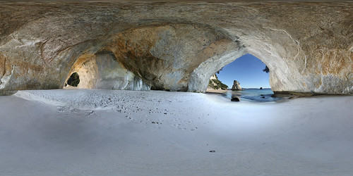 Cathedral Cove - Panorama