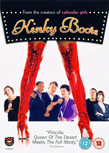 Today is all about...finally watching Kinky Boots