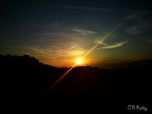 sunset tuesday scenery sky clouds golden sun cellphonephotography lgaristo chrisbk23 cbkelley cbkelleyphotography beautiful godscreation warmth serenity scenic glory christopherkelley