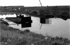 "Construction Of The New Road And Bridge (1972) • <a style=""font-size:0.8em;"" href=""http://www.flickr.com/photos/36664261@N05/14055600669/"" target=""_blank"">View on Flickr</a>"