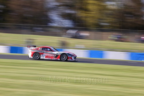 Jac Constable in the Ginetta GT4 Supercup during the BTCC Weekend at Donington Park 2017: Saturday, 15th April