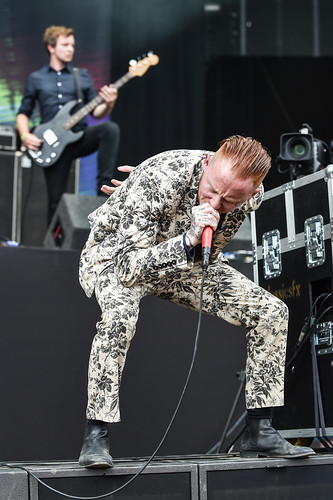 Frank Carter and the Rattlesnakes at Leeds Festival 2016