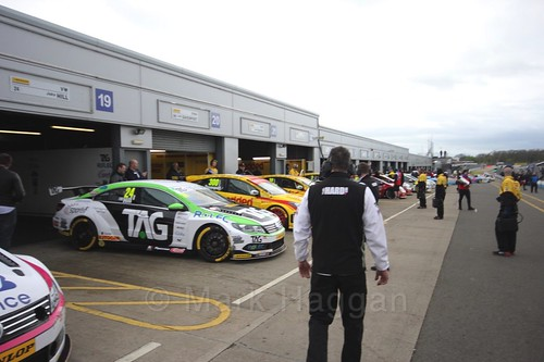 Race two at the British Touring Car Championship 2017 at Donington Park