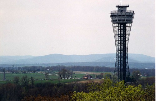 The Tower, from Culp's Hill observation tower