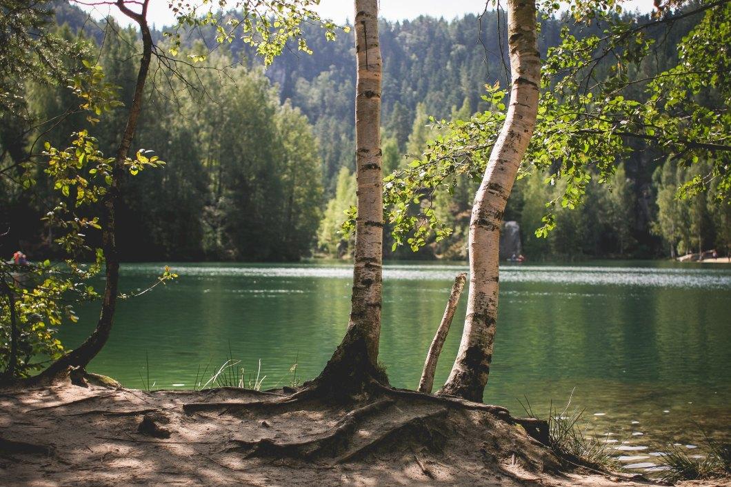 Imagen gratis de una bonito lago en la República Checa