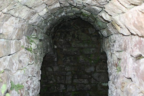 Cobble Hall Lime Kiln Entrance