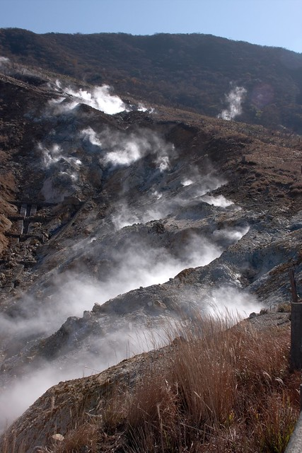Owakaduni Hot Springs, Hakone