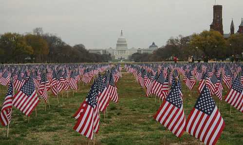 """12,000 Flags for 12,000 Patriots"" Event"