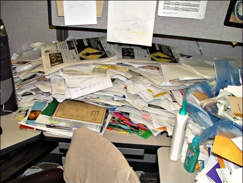 World's Messiest Office Cubicle Discovered in Colorado
