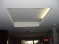 Tray Ceiling and Lighting After