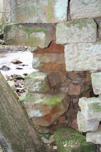 Bridge Foundation over West Beck