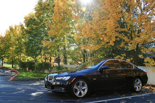 BMW 335 in the Fall-10