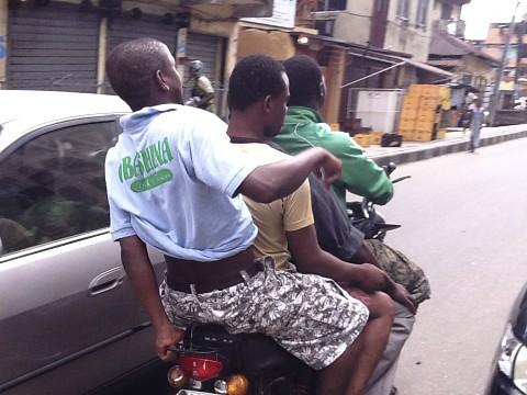 Okada - 4 Riders 1 Motorcycle Lagos Nigeria by Jujufilms