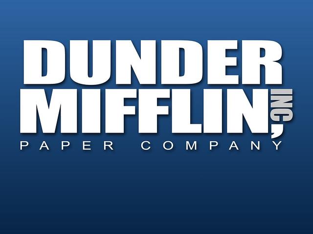 Dunder Mifflin Logo  Flickr  Photo Sharing