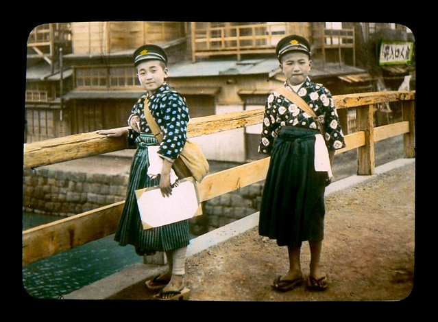 BOYS IN SKIRTS  Going to School in Old Japan  Flickr