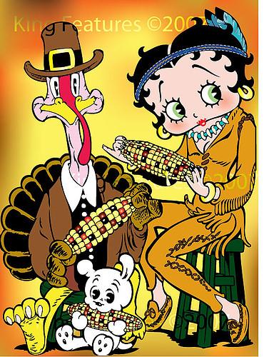 Boop Thanksgiving Betty 2013